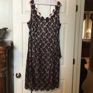 JS Boutique plus size special occasion dress